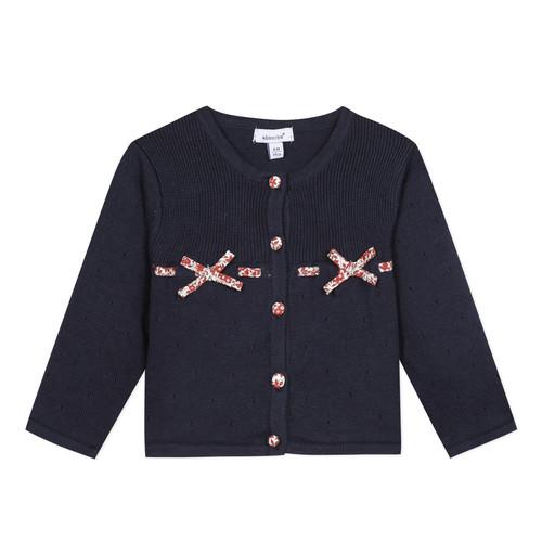Clothing Girl Jackets / Cardigans Absorba NOLI Marine