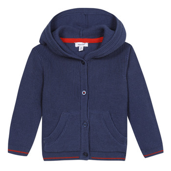 Clothing Boy Jackets / Cardigans Absorba PRAVESH Blue