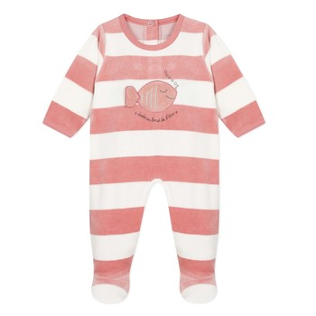 Clothing Girl Sleepsuits Absorba SOLINO Pink