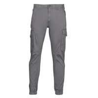 Clothing Men Cargo trousers Jack & Jones JJIPAUL Grey