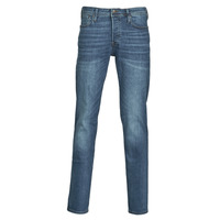 Clothing Men slim jeans Jack & Jones JJITIM Blue / Dark
