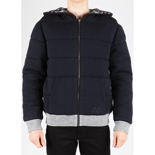 Clothing Men Duffel coats Guess M14R20Z0B00-753 navy