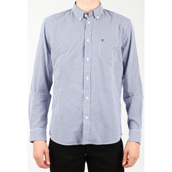 Clothing Men Long-sleeved shirts Wrangler 1 PKT Shirt W5929M8DF blue, white