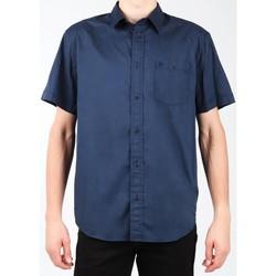 Clothing Men Short-sleeved shirts Wrangler S/S 1PT Shirt W58916S35 navy