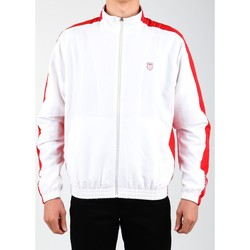 Clothing Men Track tops K-Swiss Accomplish Jacket 100250-119 white, red
