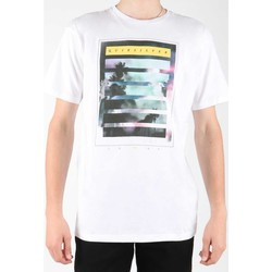 Clothing Men Short-sleeved t-shirts Quiksilver EQYZT00013-WBB0 white