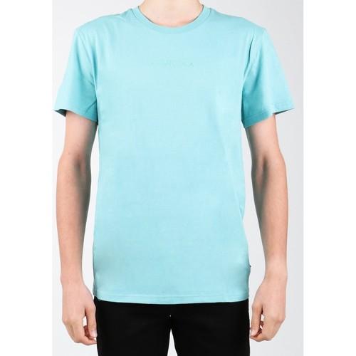 Clothing Men Short-sleeved t-shirts DC Shoes DC SEDYKT03376-BHA0 blue