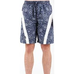 Clothing Men Shorts / Bermudas Zagano 5603-115 navy , white