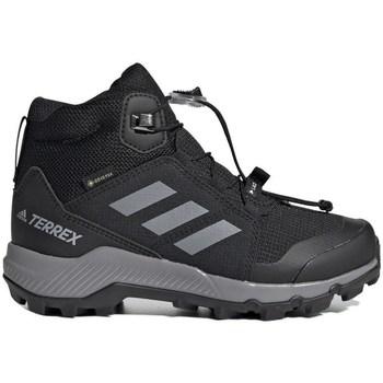 Shoes Children Snow boots adidas Originals Terrex Mid Gtx Black,Grey
