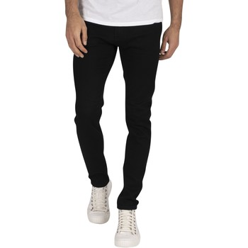 Clothing Men Skinny jeans Jack & Jones Liam Original 816 Skinny Jeans black