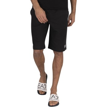 Clothing Men Shorts / Bermudas Emporio Armani EA7 Bermuda Sweat Sweat Shorts black