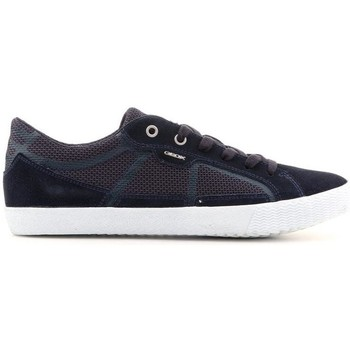Shoes Men Low top trainers Geox U Smart I Blue