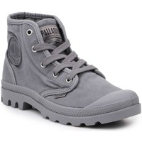 Shoes Men Hi top trainers Palladium US Pampa HI Titanium Grey
