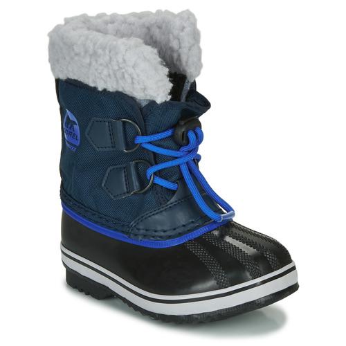 Shoes Children Snow boots Sorel CHILDRENS YOOT PAC NYLON Blue