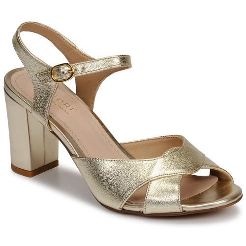 Shoes Women Sandals André JESS Gold