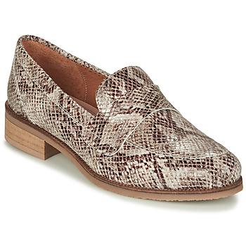 Shoes Women Loafers André BABOUA Beige