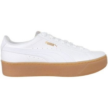 Shoes Women Low top trainers Puma Vikky Platform VT White