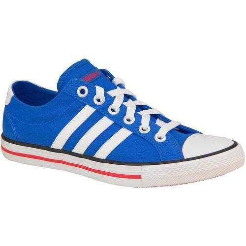 Shoes Children Low top trainers adidas Originals Vlneo 3 Stripes LO K Blue