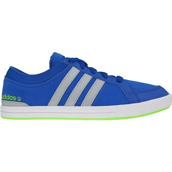 Shoes Boy Low top trainers adidas Originals Skool K Grey,Blue