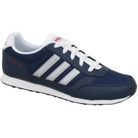 Shoes Children Low top trainers adidas Originals Switch VS K White,Navy blue