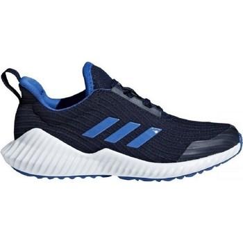 Shoes Children Low top trainers adidas Originals Fortarun K Black