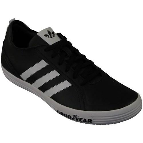 Shoes Children Low top trainers adidas Originals Goodyear Driver Vulc J Black