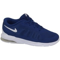Shoes Children Low top trainers Nike Air Max Invigor Print TD Navy blue