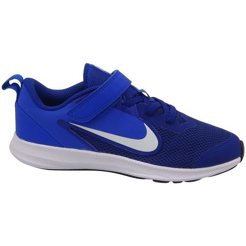 Shoes Children Low top trainers Nike Downshifter 9 Psv Blue