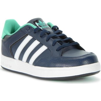 Shoes Boy Low top trainers adidas Originals Varial J White,Navy blue