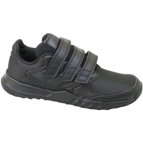 Shoes Children Low top trainers adidas Originals Fortagym CF K Black