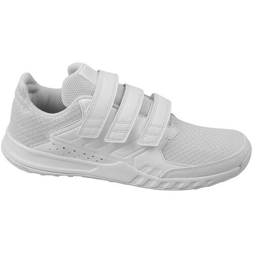 Shoes Children Low top trainers adidas Originals Fortagym CF K White