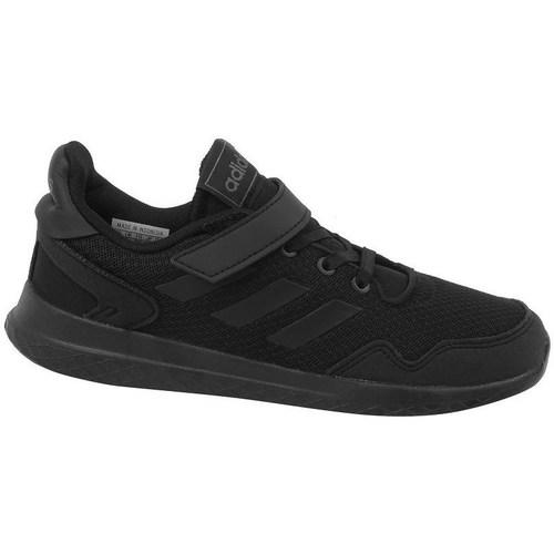 Shoes Children Low top trainers adidas Originals Archivo C Black