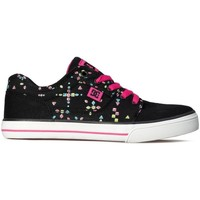 Shoes Women Low top trainers DC Shoes Tonik TX SE White,Black,Pink
