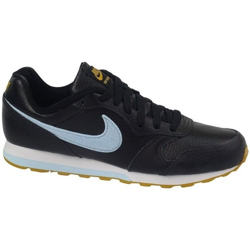 Shoes Children Low top trainers Nike MD Runner 2 Flt Black