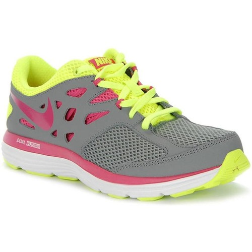Shoes Children Running shoes Nike Dual Fusion Lite GS Grey