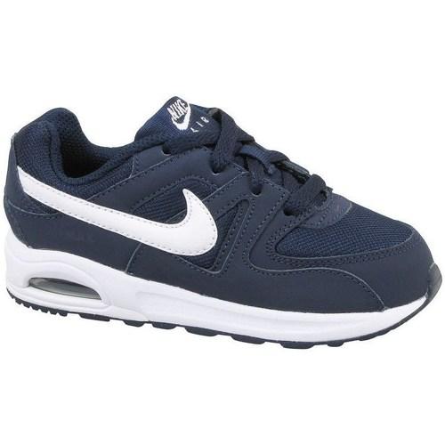 Shoes Children Low top trainers Nike Air Max Command Flex TD Black