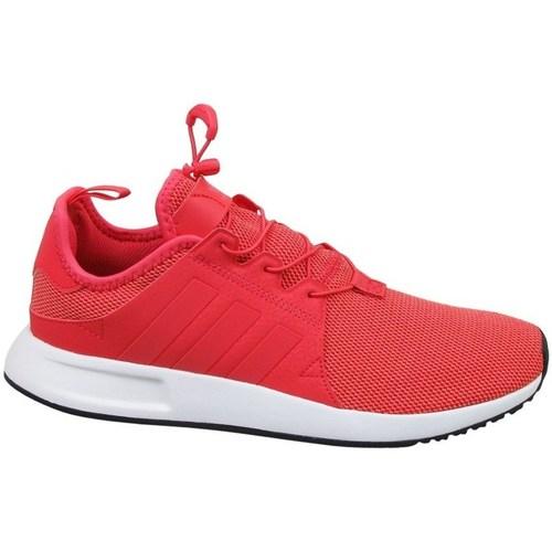 Shoes Children Running shoes adidas Originals X Plr C Red
