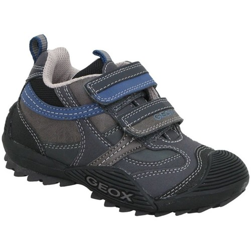 Shoes Children Multisport shoes Geox Savage Grey
