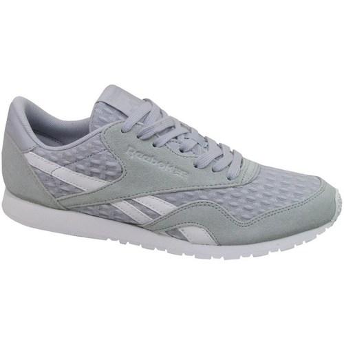 Shoes Women Low top trainers Reebok Sport CL Nylon Slim Architect Grey