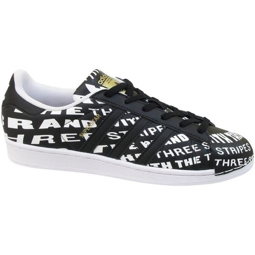 Shoes Children Low top trainers adidas Originals Superstar J