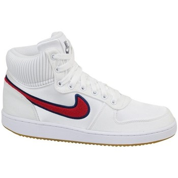 Shoes Women Hi top trainers Nike Wmns Ebernon Mid White