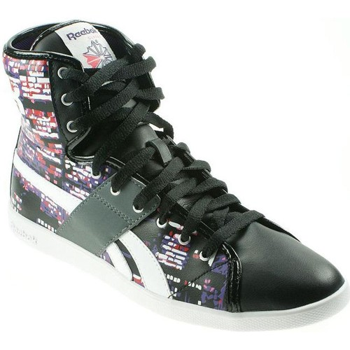 Shoes Women Hi top trainers Reebok Sport Top Down Black