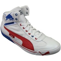 Shoes Men Hi top trainers Puma Speed Cat 29 Mid Rbr White, Red