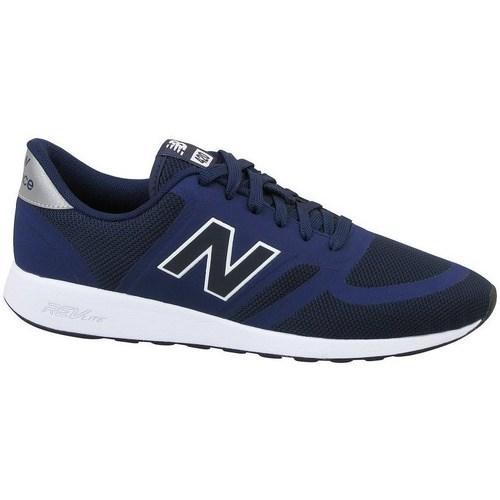 Shoes Men Low top trainers New Balance 420 Black