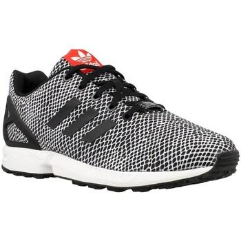 Shoes Children Low top trainers adidas Originals ZX Flux K White,Black