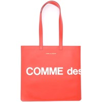Bags Women Shopping Bags / Baskets Comme Des Garcons Shopping Bag model Huge Logo in Red