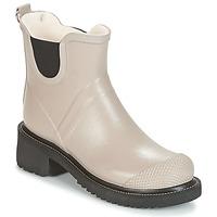 Shoes Women Wellington boots Ilse Jacobsen RUB47 Ocre tan
