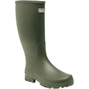 Shoes Men Wellington boots Regatta MUMFORD II Wellingtons Deep Green  Green Green