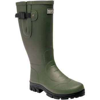 Shoes Men Wellington boots Regatta Rivington Wellingtons Green Green