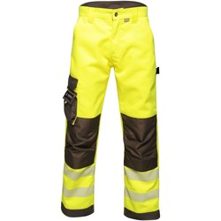 Clothing Men Cargo trousers Professional Tactical Hi Vis Hardwearing Reflective Trousers Yellow Yellow